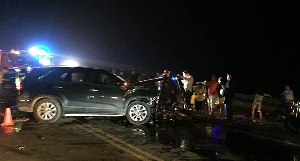 Tres personas mueren en accidente de tránsito en la vía Evitamiento en Trujillo