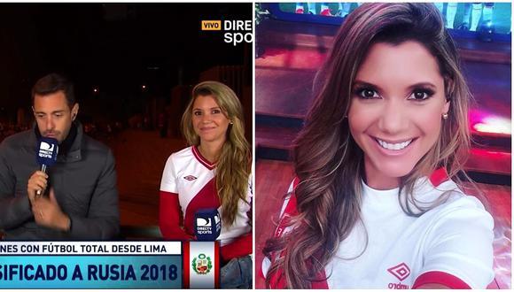 Periodistas de 'Fútbol Total' se burlan de Alexandra Hörler y así reacciona ella (VIDEO)