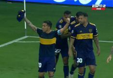 Carlos Tévez anotó el gol con el que Boca Juniors venció a Inter de Porto Alegre y se lo dedicó a Maradona (VIDEO)