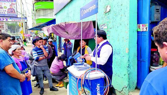El 60% de bodegas del distrito de Chilca cambian su giro para la venta de gas