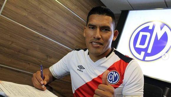Andy Pando firmó por Deportivo Municipal a inicios del 2020. (Foto: Instagram)