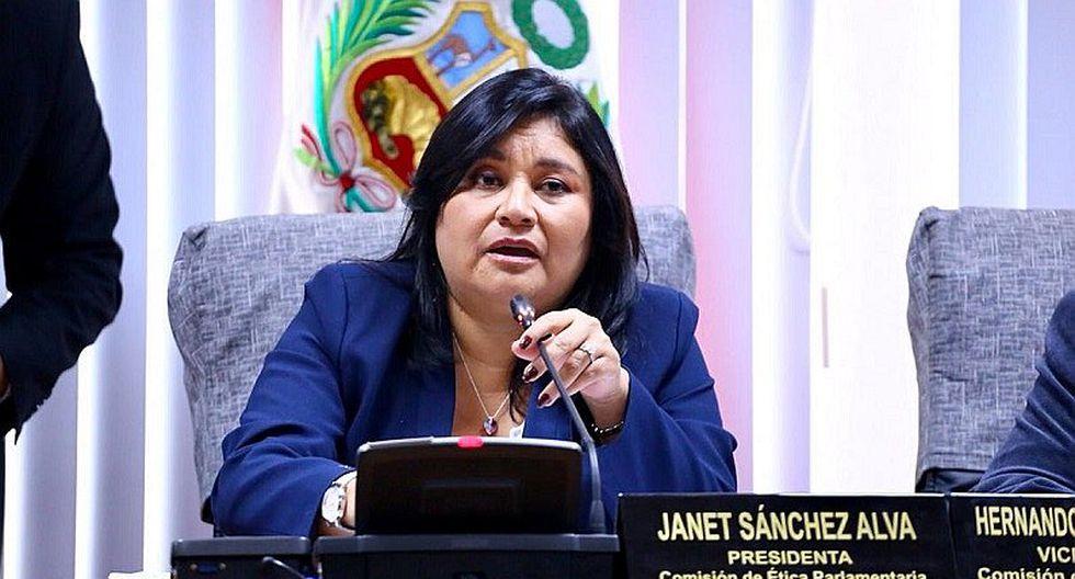 Janet Sánchez renuncia a bancada Peruanos por el Kambio