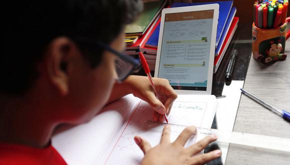 Aprendo en casa (Foto: Andina)