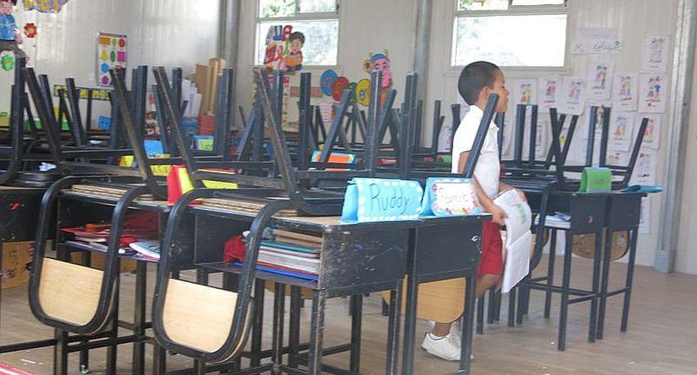 Inicio del año escolar en Arequipa supeditada a las lluvias