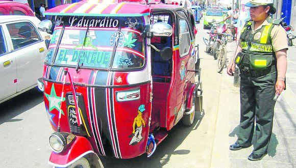 Sacarán de circulación en carreteras a mototaxis