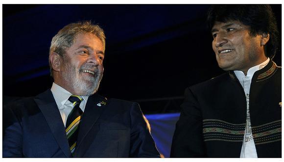 "Evo Morales: Lula da Silva lamentó ""golpe de Estado"" en Bolivia"