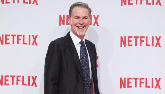 """Reed Hastings, CEO de Netflix, lanza el libro """"Aquí no hay reglas"""" sobre la """"inusual"""" cultura laboral de la plataforma. (Foto: Netflix)"""