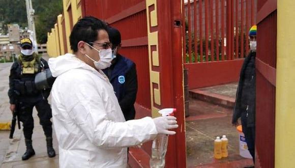 Huancavelica: Alcalde de Ascensión lucha contra el coronavirus