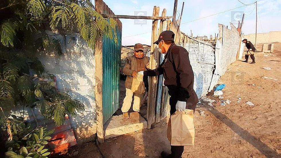 Policía brinda apoyo social a población vulnerable en Tacna