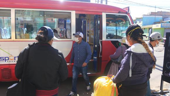 Pasaje se cobra a dos soles desde agosto, por reducción de aforo de buses (Foto: Eduardo Barreda)