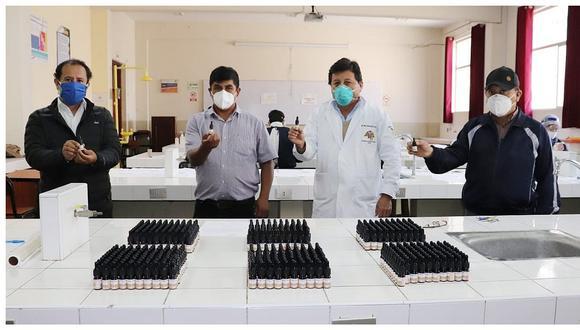 Universidad Nacional de Trujillo entrega lote de ivermectina a comuna de Lucma