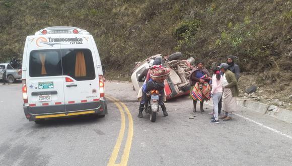 Los heridos fueron trasladados hasta el hospital de Macusani. (Foto: Difusión)