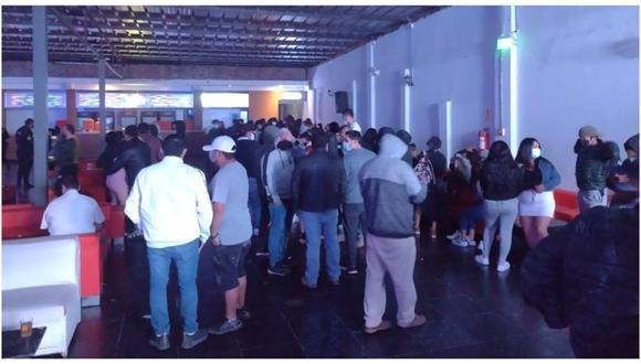 La Policía, Ejército y serenazgo intervinieron locales donde se realizaban fiestas sin respetar los protocolos de bioseguridad. (Foto: Municipalidad Provincial de Trujillo)