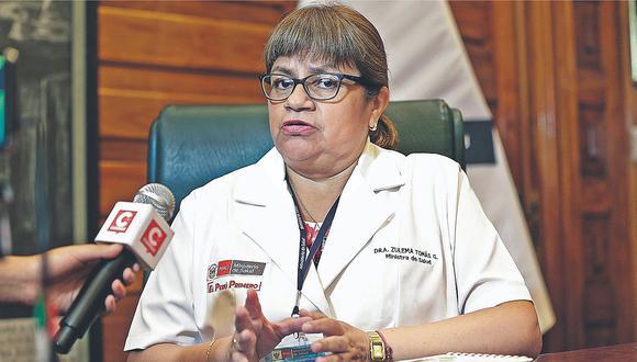 """Ministra de Salud: """"No podemos intervenir directamente en la anemia"""""""