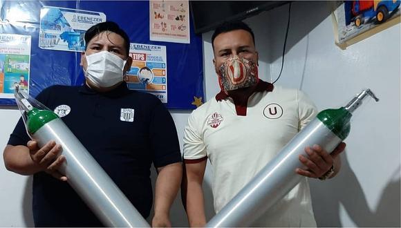 """La Libertad: Hinchas de la """"U"""" y Alianza Lima lanzan campaña """"Cartavio con corazón y garra"""" para recolectar oxígeno"""