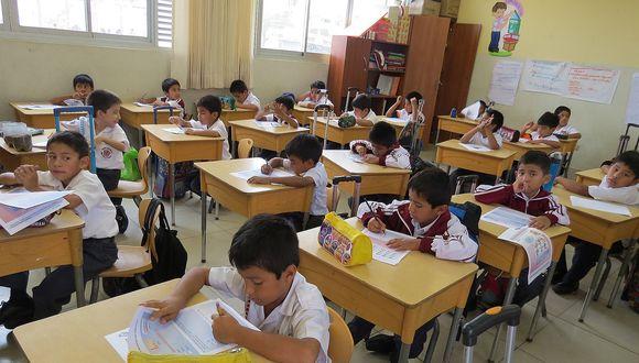 El Minedu evaluará a 157,114 escolares de la región Lambayeque