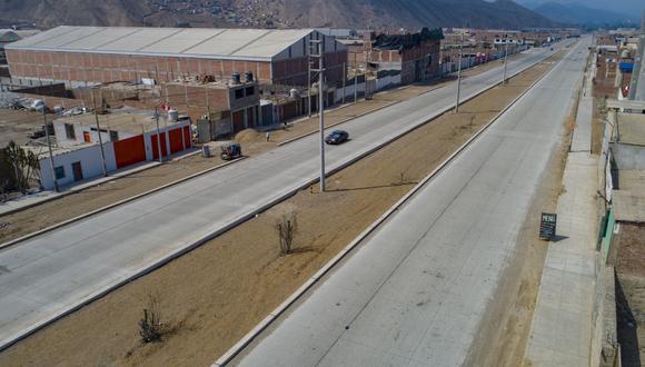 La Municipalidad de Lima indicó que las labores de construcción se encuentran en su etapa final, pues ya se tienen concluidos más de 8 km de vías que, incluso, están operativas. (Foto: MML)