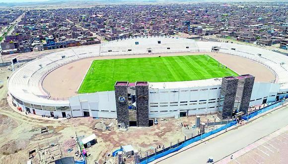 En enero se terminará si GRP licita iluminación del estadio Guillermo Briceño