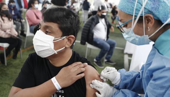 La vacunación será interrumpida este lunes 26 de julio. (Foto: Cesar Campos / @photo.gec)