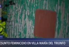 Mujer de 39 años que estaba desaparecida fue hallada sin vida, enterrada en su casa, en Villa María del Triunfo (VIDEO)