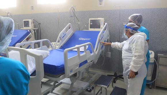 El hospital Goyeneche está destinado para atender a pacientes de otras patologías y a la vez infectados con COVID-19. (Foto: Eduardo Barreda)