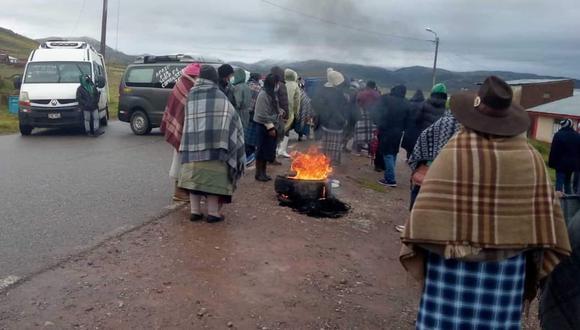 Manifestantes píden cumplimiento de compromisos electorales. (Foto: Referencial)