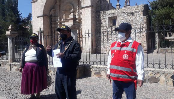 Los dirigentes de las rondas campesinas piden la inmediata corrección del fallo del Tribunal. (Foto: Feliciano Gutiérrez)