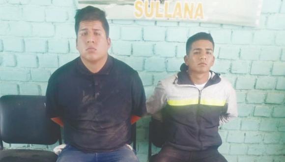 Atrapan a dos hampones que cometieron robos sucesivos por S/ 8,000