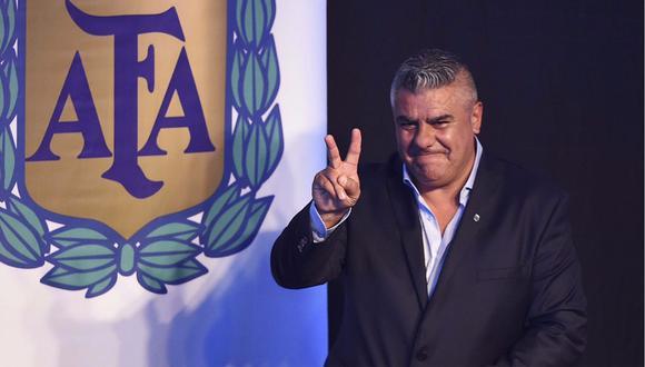 """Presidente de la AFA: """"Vamos a salir campeones del mundo"""""""