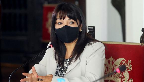 """La presidenta del Congreso destacó que el Ejecutivo haya """"focalizado"""" medidas restrictivas según el nivel de contagio de COVID-19 de cada región."""