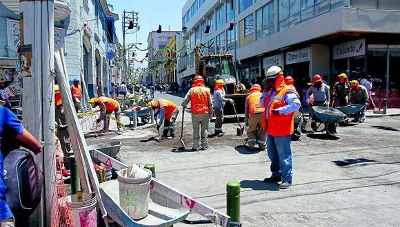 Abren investigación por  obras de adoquinado en obra de calle Jerusalén