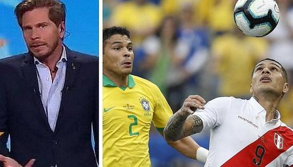 """'Pollo' Vignolo: """"De verdad, ¿creen que Brasil perderá una final contra Perú?"""" (VIDEO)"""