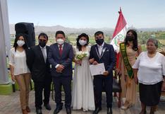30 parejas se casaron en matrimonio masivo en Paucarpata