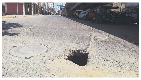 Los pobladores piden a las autoridades de la municipalidad y Gobierno Regional de Tumbes el mejoramiento de las vías.