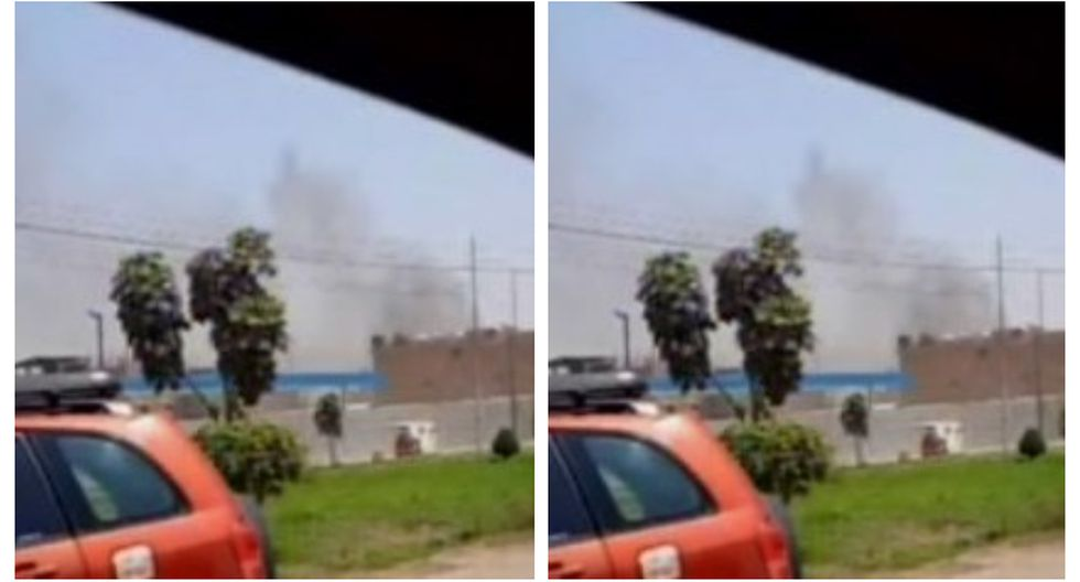 Incendio (Foto: Captura Canal N)