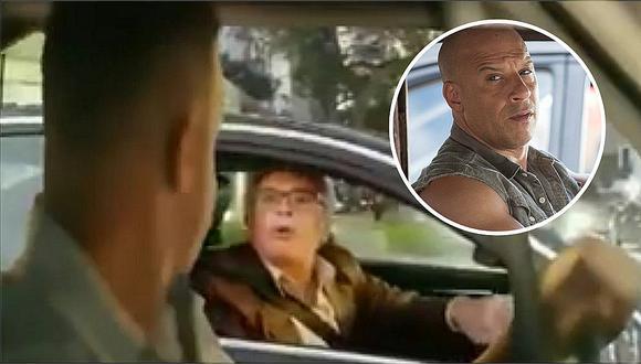 """Manuel Liendo Razuri """"se enfrentó"""" a Toretto de """"Rápidos y Furiosos"""" y esto es lo que sucedió (VIDEO)"""