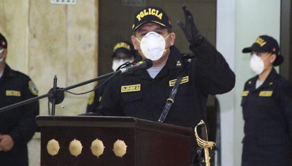 Presidente de la República, Francisco Sagasti destacó la reincorporación del comandante Orlando Velasco, quien dio positivo al coronavirus el pasado 16 de setiembre y fue reemplazado por el teniente general Jorge Lam Almonte.