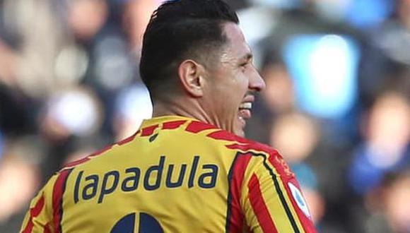 Gianluca Lapadula juega en Benevento y tiene dos goles en la presente temporada. (Foto: U.S. Lecce)