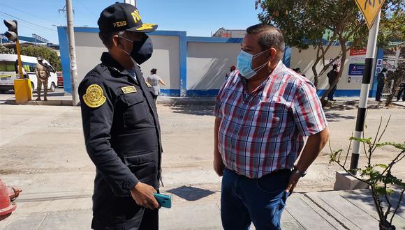 En defensa de la ciudadanía, el alcalde de Moquegua solicita a la Policía capturar a los delincuentes. (Foto: Correo)