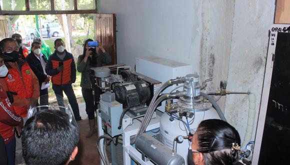 Planta de Nitrógeno se encuentra en las instalaciones de la Dirección Regional Agraria