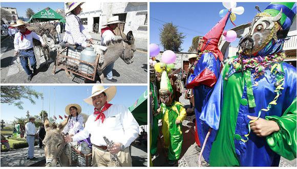 Arequipa está de fiesta: no se pierda la Entrada de Ccapo desde el distrito de Cayma (VIDEO)