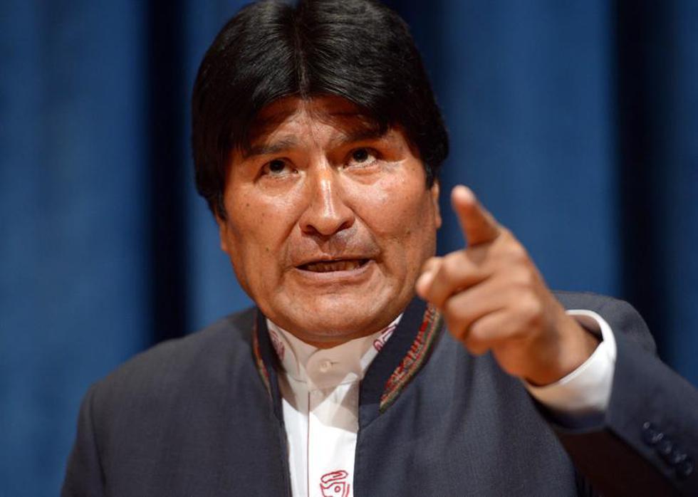 Evo Morales anuncia la presentación de demanda marítima contra Chile en La Haya