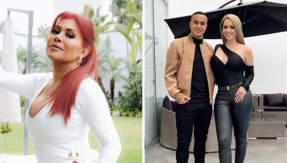 La conductora de 'Magaly TV, La Firme' defendió a Jesús Barco y Melissa Klug. (Foto: @melissaklugoficial / @magalymedinav)