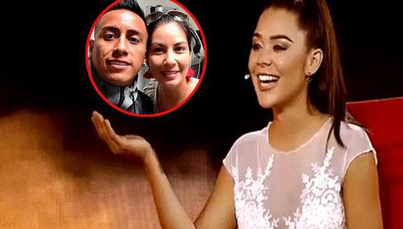 """""""Es absurdo que ella siga con ese tipo que la pone por el suelo delante de todo el país"""", dijo la venezolana sobre la esposa de Christian Cueva."""