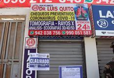 Municipio clausura laboratorio clínico en el cercado de Ica