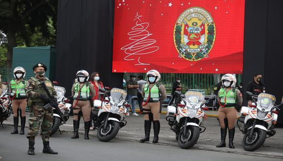 Estas son las actividades navideñas que puedes disfrutar este domingo en el Cercado de Lima. (Foto: Britanie Arroyo / @photo.gec)