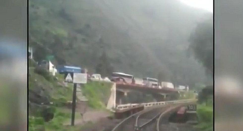 Huarochirí: Dos muertos deja derrumbe en la Carretera Central