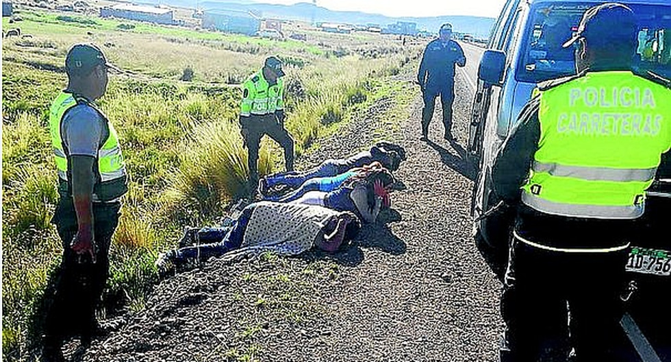 Robaron casi 8 mil soles, pero fueron capturados tras sufrir accidente mientras huían