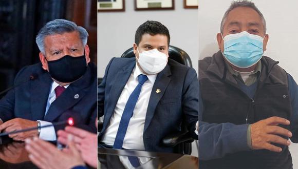 Líder de Alianza Para el Progreso, César Acuña, y los congresistas Diego Bazán y Víctor Flores coinciden en que es una amenaza.