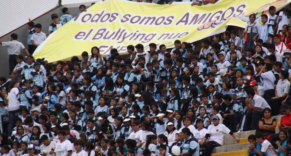 Siete mil escolares le dicen no al bullying